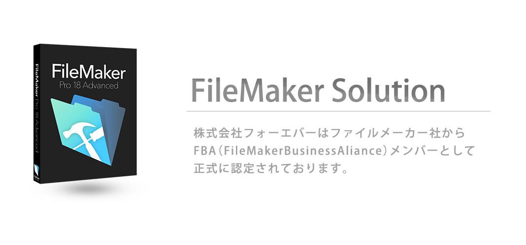 FileMakerソリューション